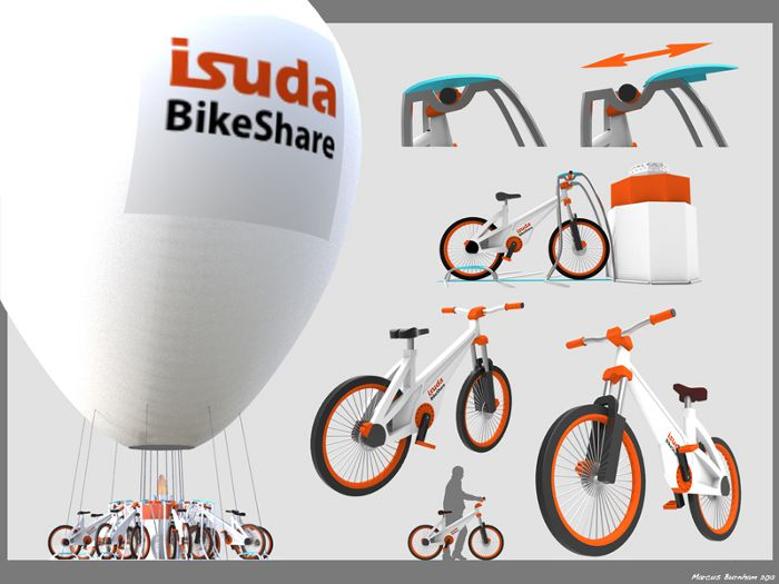 Balloon Bikes, Marcus Burnham