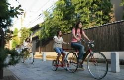 ユニーク貸し自転車