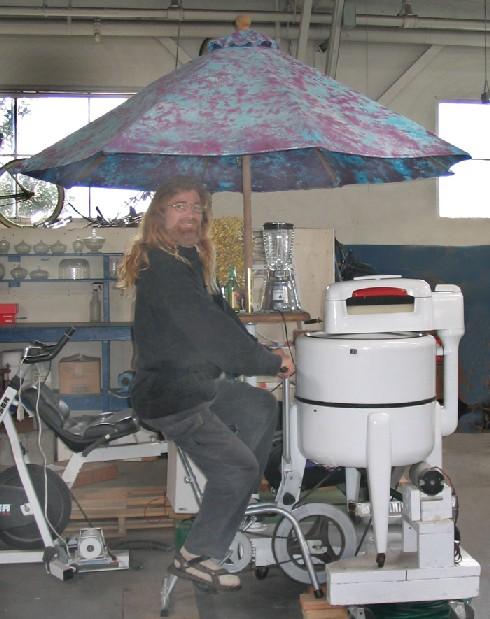 人力洗濯機
