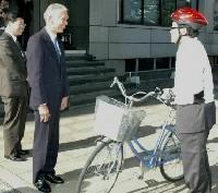 温室効果ガス削減に自転車
