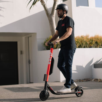 Uber electric scooters