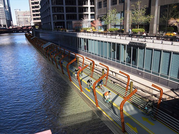 RiverRide floating pathway