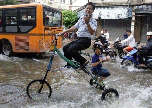 Fight Flood Bicycle