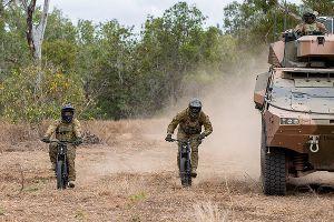 陸軍が電動自転車