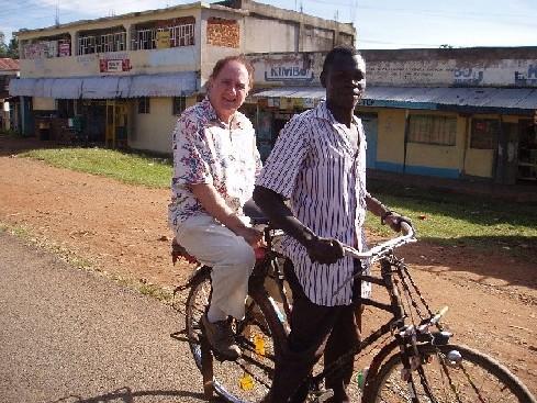 ケニアの自転車タクシー