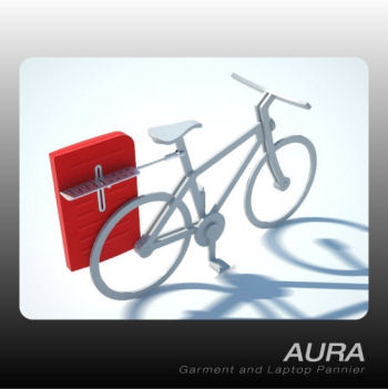 AURA - Garment and Laptop Pannier
