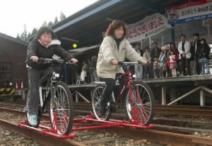 軌道自転車