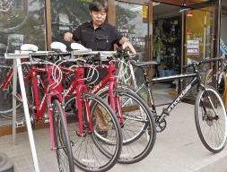 レンタル自転車人気