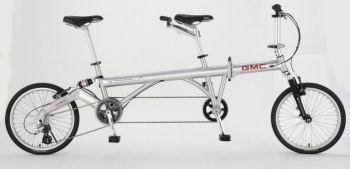 タンデムのフォールディングバイク