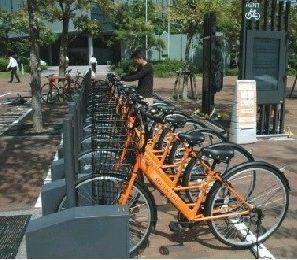 コミュニティーサイクル社会実験