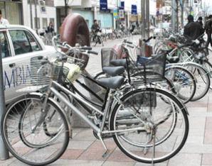 自転車盗が目立つ