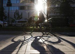 自転車摘発