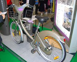 レンタル自転車共有システム