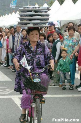 出前自転車