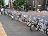 街に溢れる自転車