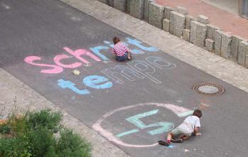 子供は安心して落書きが出来る