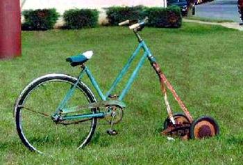 芝刈自転車