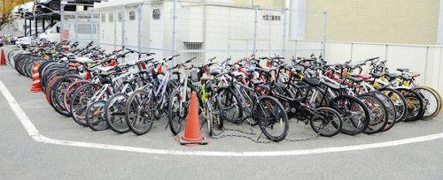 自転車盗逮捕