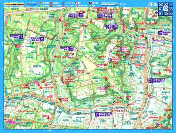 自転車用地図