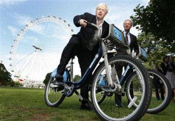 ロンドンでレンタサイクル事業開始