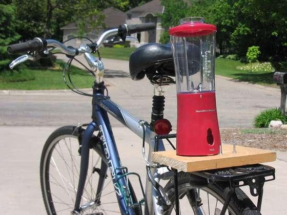 ジューサー自転車