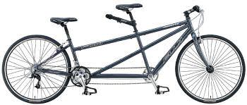 普通の2輪のタンデム自転車
