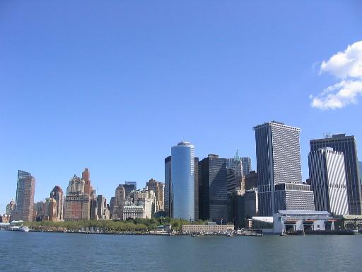 マンハッタン南端