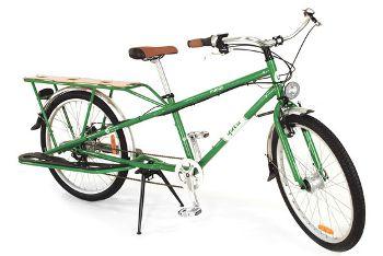 米国で人気高まるカーゴ自転車