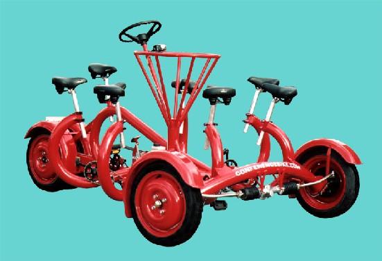 会議用自転車
