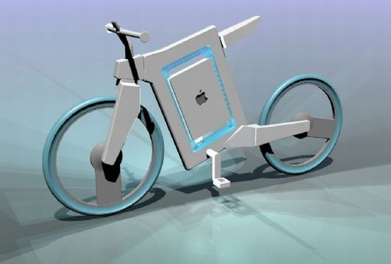 Apple Bicycle, weblogsurf.com
