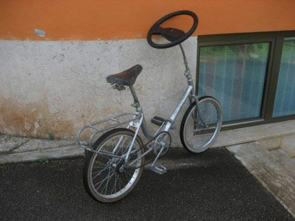 Bike Steering Wheel, www.yikers.com
