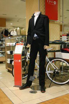 自転車通勤用スーツ