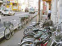 自転車の撤去事業は無い方が良い