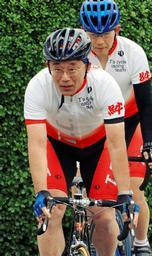 自転車大臣谷垣禎一