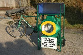 ペダル式洗濯機