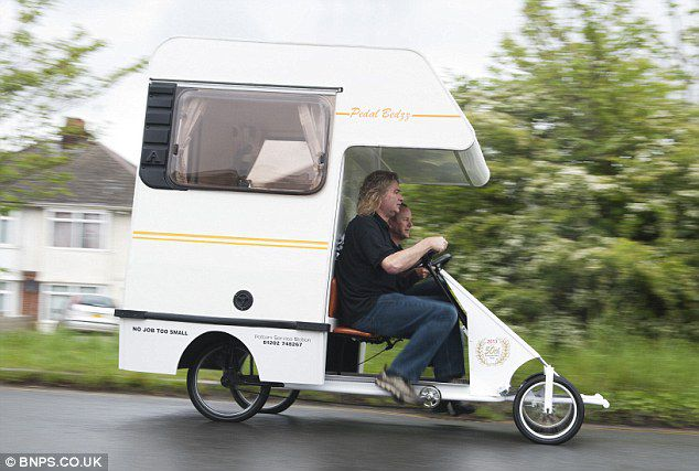 PEDAL BEDZZ, www.dailymail.co.uk