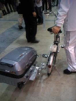 自転車のサイドカーになる