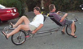 Back to Back Tandem Recumbent