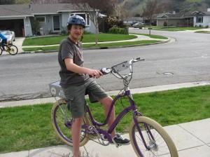 Purple Pedals
