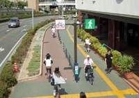 自転車レーン、半数の人が危険と
