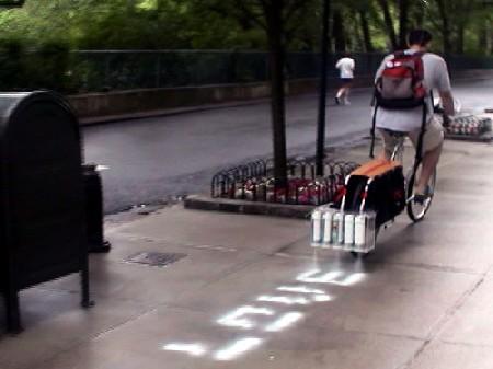 自転車プリンター