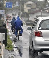 自転車が加害の事故多発