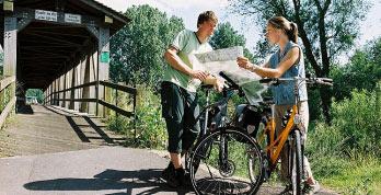 サイクリングロードが整備