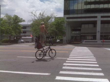 Bike Surfing