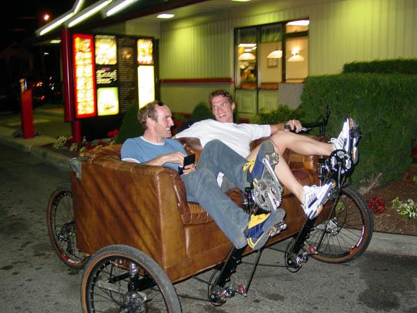 カウチバイク