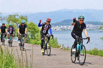 琵琶湖に進出