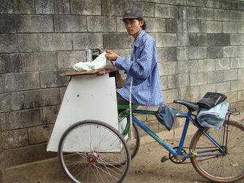 ミシン自転車
