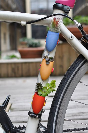 Planter for your Bike, www.etsy.com