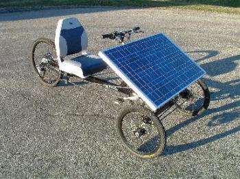 ソーラーパワー自転車