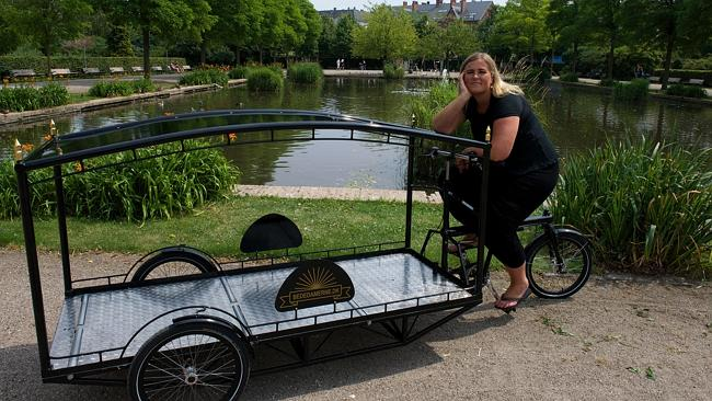 Tricycle Hearse